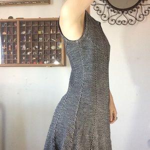 Theory Dresses - Sold Buffalo Theory Knit Full Zipper Winter Dress